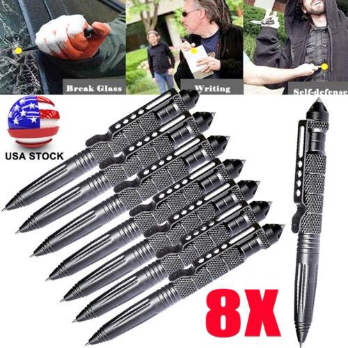 "8* 6""Aluminum Tactical Pens Glass Breaker Writing Survival P"