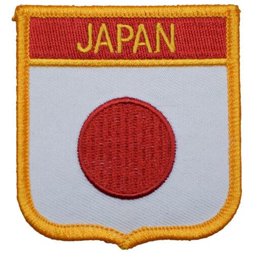 "Japan Patch - Ring of Fire, Tokyo, Honshū, Hokkaido 2.75"" (Iron on)"