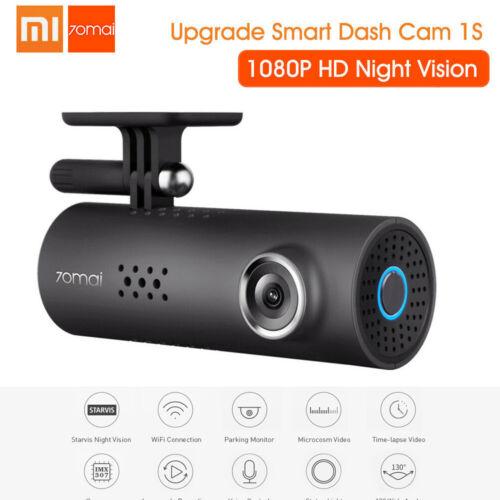 Xiaomi 70mai 1S 1080P HD Dash Cam Smart WiFi Car DVR Camera