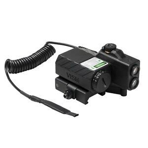 NcSTAR VISM Navigation LED Offset Green Laser Designator Box w/ Pressure Switch