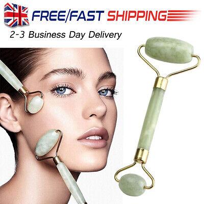 Natural Facial Jade Stone Roller Beauty Massage Tool Face Anti Ageing Massager