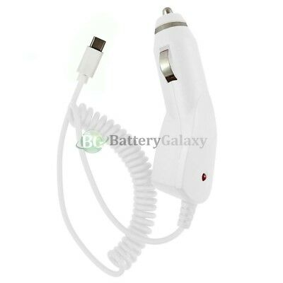 USB Type C Car Charger for Android Phone Samsung Galaxy S9 /