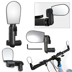 Bike Bicycle Cycling Rear View Mirror Handlebar 360° Flexible Safety Rearview