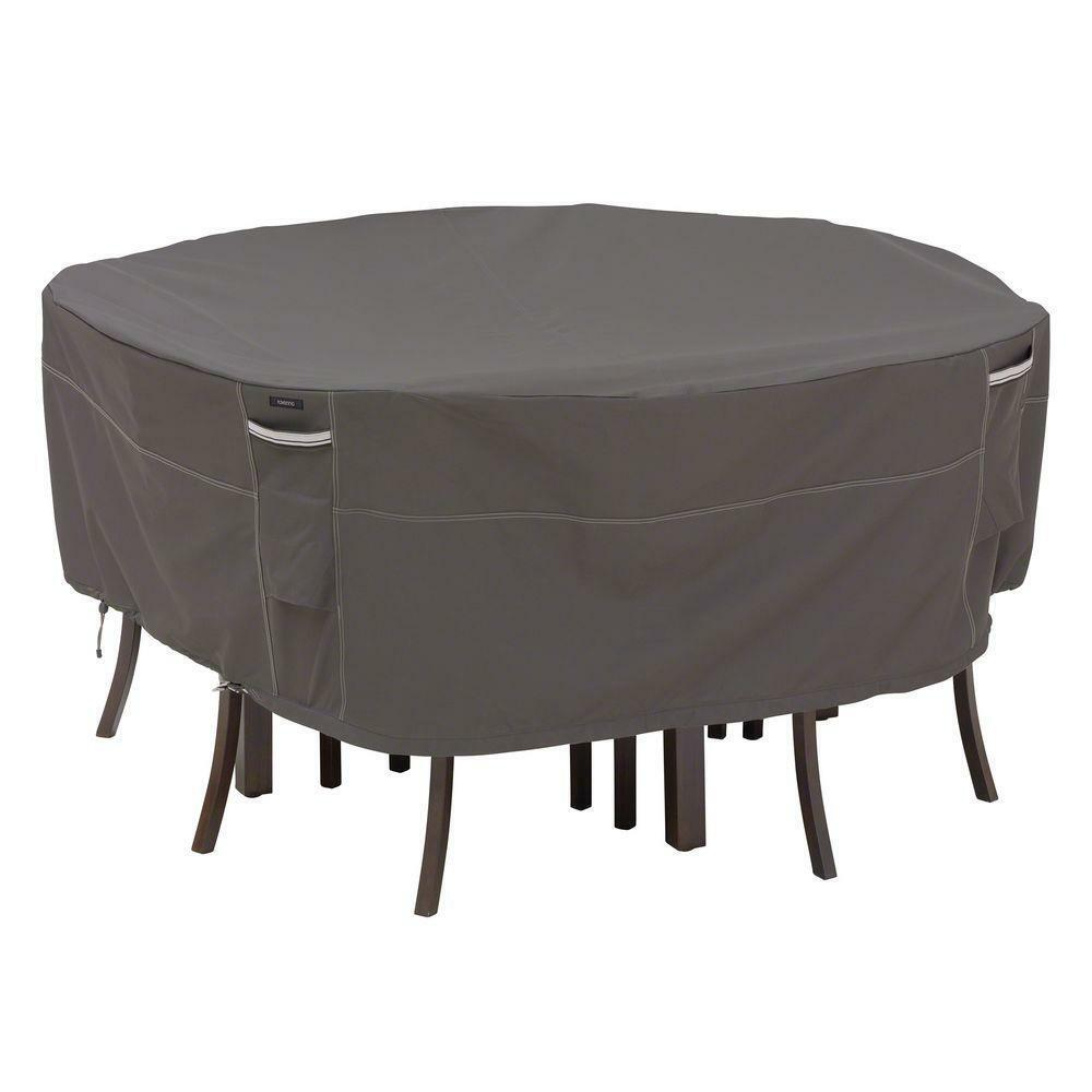 Ravenna Round Patio Table and Chair Set Cover, Medium
