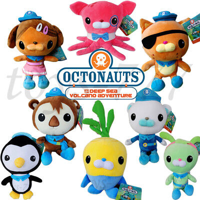 Octonauts Series Barnacles Dashi kwazii Inkling Tunip Tweak Ect. AVP Plush Toys](Barnacles Octonauts)