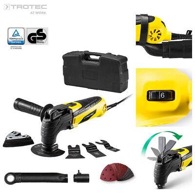 TROTEC Multifunktionswerkzeug PMTS 10-230V Multitool inkl. Zubehör im Koffer Zubehör