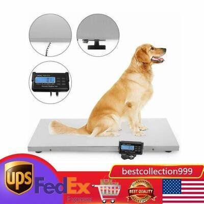 660lb Digital Livestock Vet Scale Hog Pet Dog Sheep Heavy Duty Weight 300kg