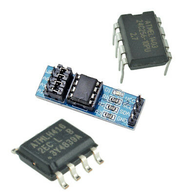 At24c256 Serial I2c Interface Eeprom Data Storage Moduledip-8sop-8 For Arduino