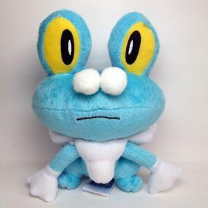 "Froakie Pokemon XY Plush Toy Bubble Water Type Frog Soft Doll Stuffed Animal 6"""