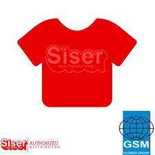 "SISER HTV EasyWeed Heat Transfer Vinyl 12"" x 5 yards RED"