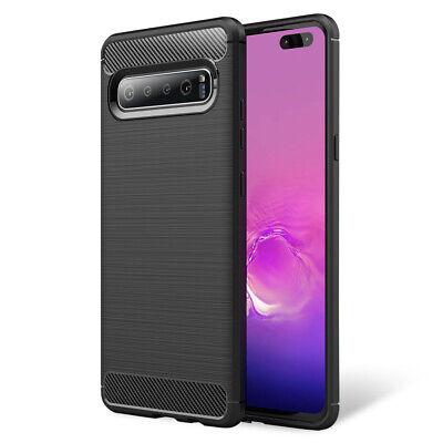 5g Cover (Handy Hülle für Samsung Galaxy S10 5G, Case Cover Schutz Tasche Schale TPU Etui)