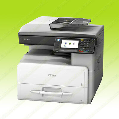 Ricoh Aficio Mp 301spf Mono Legal Multifunction Printer Copier Scanner 31ppm