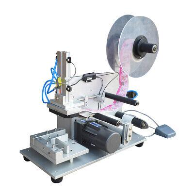 Semi-automatic Round Bottle Labeling Machine Production Date Marking Machine 110