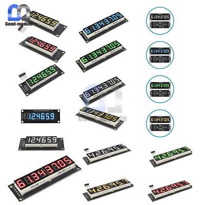 0.36 0.56 Inch 6 Digit 8 Digit 7-segments Led Display Module Tm1637 74hc595