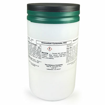 Ammonium Carbonate Bakers Ammonia Food Grade 1 Lb. Cookies