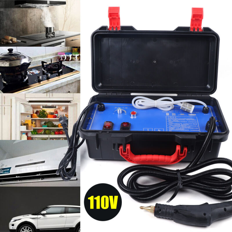 1400W Steam Cleaner Car Detailing Household Cleaning Machine 100-130°C High Temp