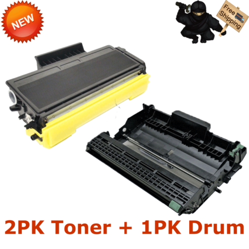 DR620 More 3 PK TN650 2x Toner + 1x Drum Cartridges for Brother DCP-8085DN
