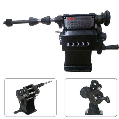 Manual Electric Coil Winder Machine Handheld Dual Purpose Coil Counting Winder
