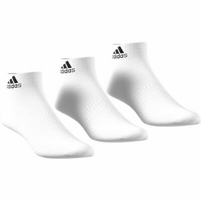 Adidas Sports Ankle Socks 3 Pairs - Unisex - White