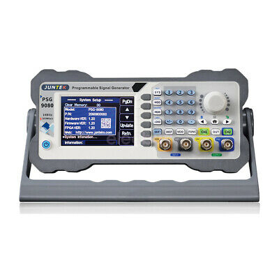 2 Ch Programmable Dds Arbitrary Waveform Function Signal Generator Psg9080 80m