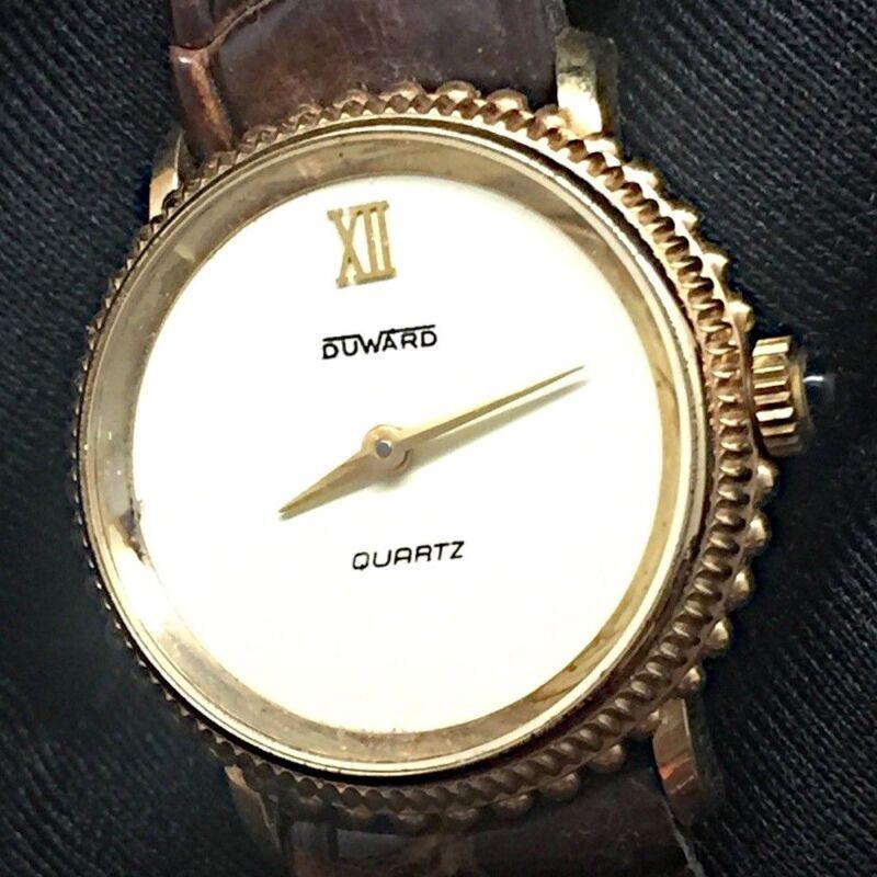 NOS nuevo Duward quartz 25mm vintage watch reloj mujer women 16a835b8a751