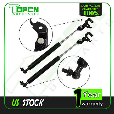 2 Front Gas Charged Hood Lift Supports Struts fit 1991-1996 Toyota Camry