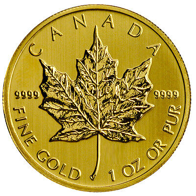 1 oz Gold Maple Leaf - 50 Dollar Kanada Div.