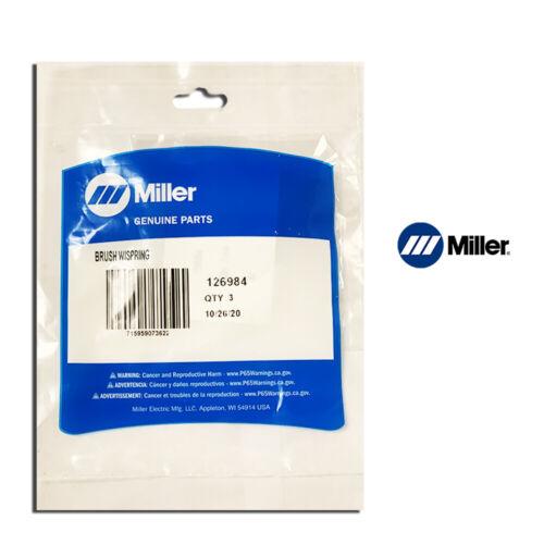 Genuine Miller 126984 Brush with Spring (3 pack)