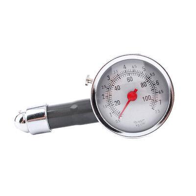 Reifendruckprüfer Luftdruckprüfer Reifendruckmesser Manometer Metall 0-7