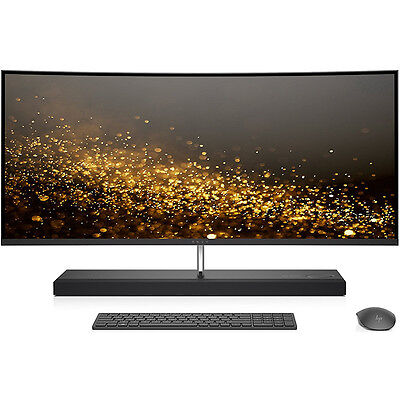 """HP ENVY 34-b010 Intel Core i7-7700T 1TB 34"""" Curved All-in-One Computer"""