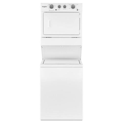 Whirlpool 3.5 Cu. Ft. 9-Cycle Washer and 5.9 Cu. Ft. 4-Cycle Dryer Electric Laundry Center White WET4027HW