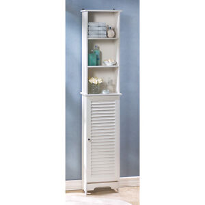 tall bathroom cabinet  ebay, Bathroom decor