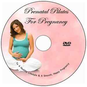 ... PILATES DVD FIVE 10 MIN WORKOUTS, PREGNANCY EXERCISE, PREGNANT WORKOUT