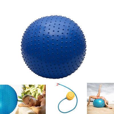 Yoga Ball Therapy Fitness Anti-burst Stability Massage Ball size: 85 cm