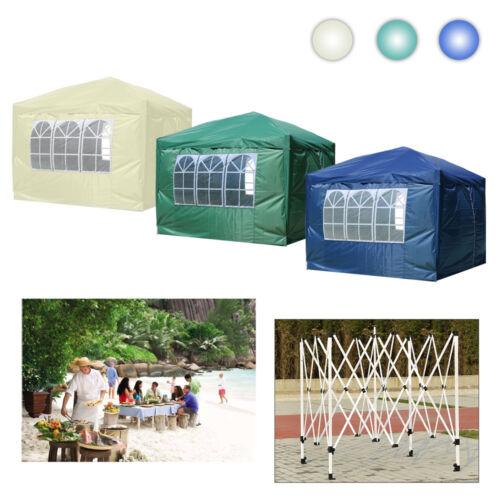 3x3m Pavillon Festzelt Partyzelt Gartenzelt Faltzelt Faltpavillon Wasserdicht