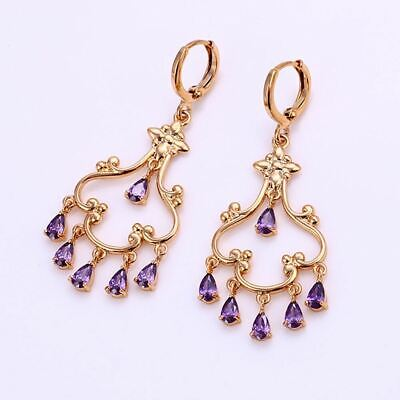 Pinklivity Cheerful Chandelier Earrings with Crystal -