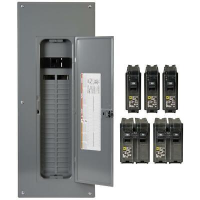 Square D Main Breaker Box Kit 200 Amp 40-space 80-circuit Plug-in Value Pack