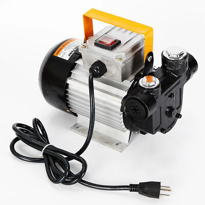 Self Priming Electric Oil Pump Transfer Fuel Diesel 110v 16gpm 550w Ups Shipping