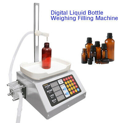 Liquid Filling Machine Bottle Filler Machine Peristaltic Pump Weighing Filling
