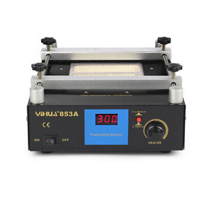 Infrared Bga Rework Station Soldering Iron Hot Plate Preheating Station 600w