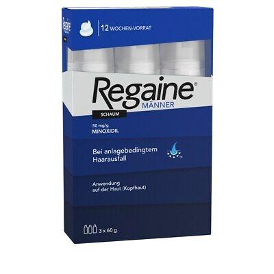 REGAINE Maenner Schaum 5 % 3x60 ml PZN: 09100275