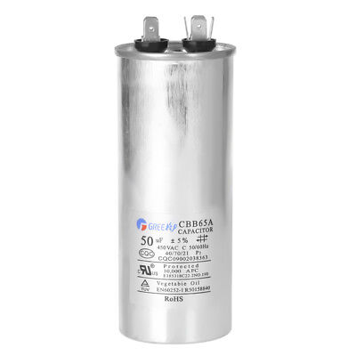 Cbb65a 50uf Run Capacitor 450vac 450v Ac 50 Uf 50mfd 5060hz New