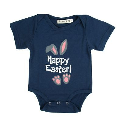 Ostern Neugeborenes Baby Boy Hasenohren Strampler Overall Kleidung (Baby Ostern Outfits)