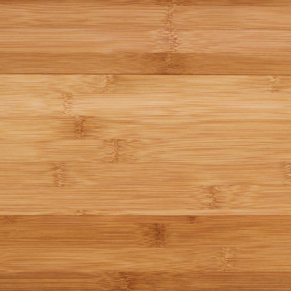 "Engineered Click Bamboo Flooring - Horizontal Toast - 3/8""x5"