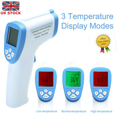 IR Digital Non-Contact Forehead Thermometer Baby Adult Ear Temperature