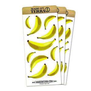 Banana Stickers Ebay
