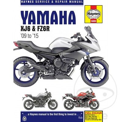 Yamaha XJ6 600 S Diversion 2010 Haynes Service Repair Manual 5889 segunda mano  Embacar hacia Argentina