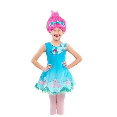 Dreamworks Trolls Poppy Kleid + Perücke Kostüm Fasching - China Princess Kostüm