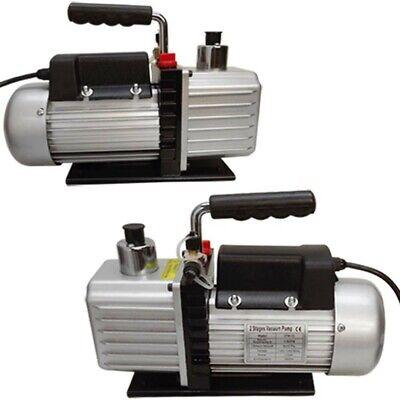 2 Stage Electric Refrigerant 2.5cfm Vacuum Pump Hvac 13hp Pumping System