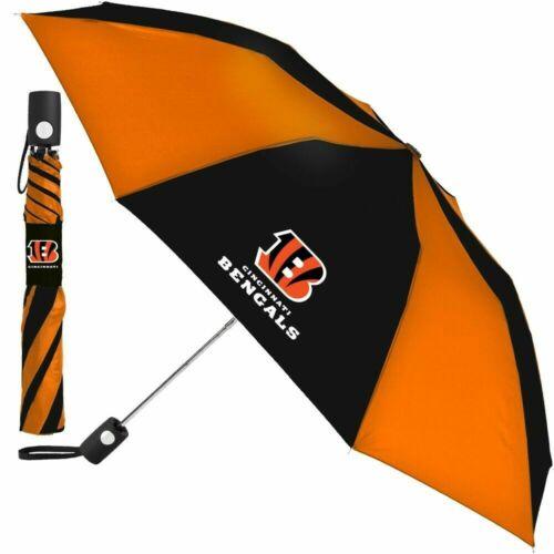 """WinCraft 42"""" Automatic Umbrella NFL Cincinnati Bengals"""